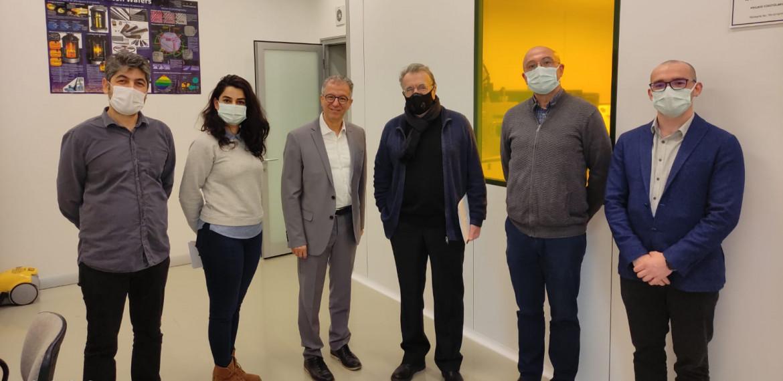Prof. Dr. Messoud Efendiyev 5.3.2021 tarihinde bölümümüzü ziyaret ederek laboratuvarlarımız hakkında bilgi edindi.